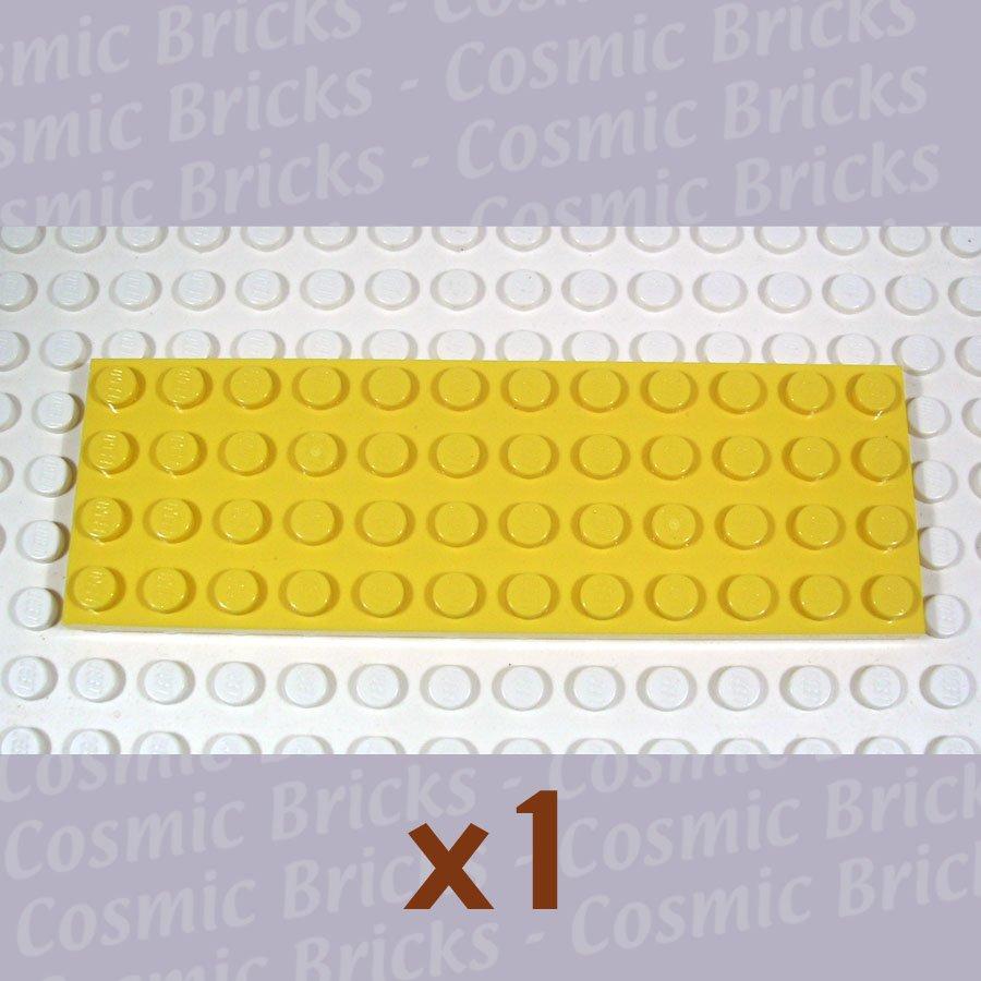 LEGO Yellow Plate 4x12 302924 3029 (single,N)