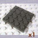 LEGO Dark Grey Plate 4x4 4113911 3031 (single,U)