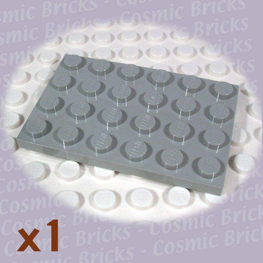 LEGO Light Gray Plate 4x6 303202 3032 (single,N)