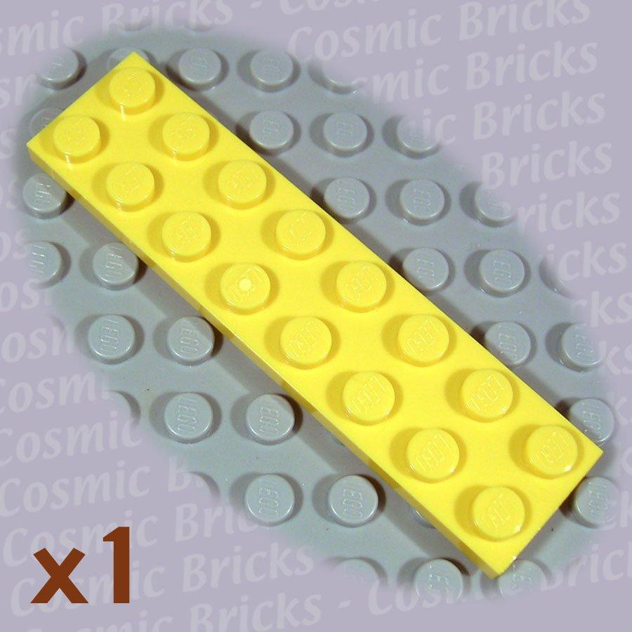 LEGO Yellow Plate 2x8 303424 3034 (single,N)