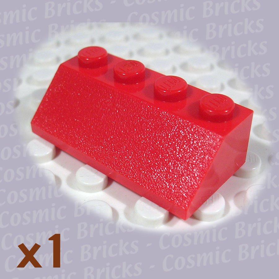 LEGO Red Slope 45 2x4 303721 3037 (single,U)