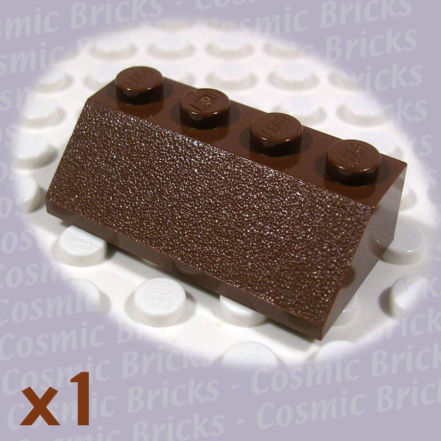 LEGO Brown Slope 45 2x4 303725 3037 (single,N)