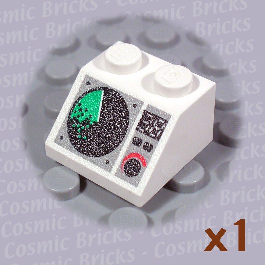 LEGO White Slope 45 2x2 Radar Screen 4261941 3039 (single,U)