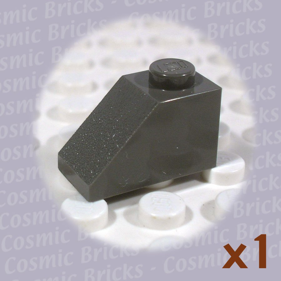 LEGO Dark Gray Slope 45 2x1 4121970 3040 (single,N)