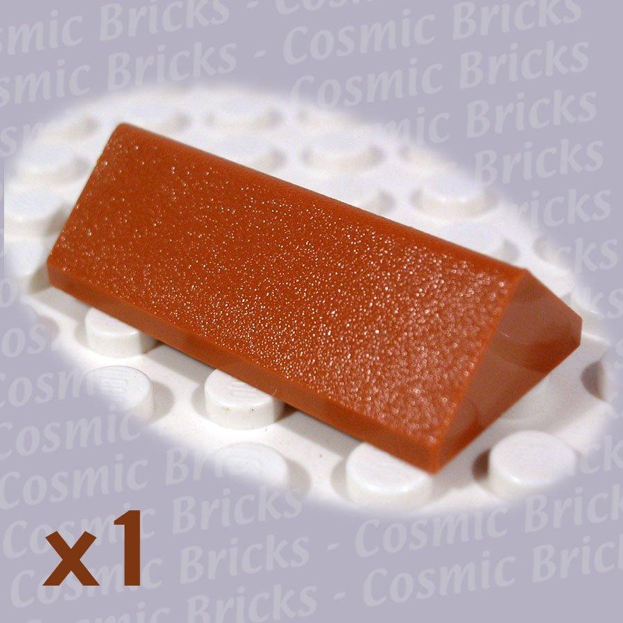 LEGO Dark Orange Slope 45 2x4 Double 3041 (single,N)