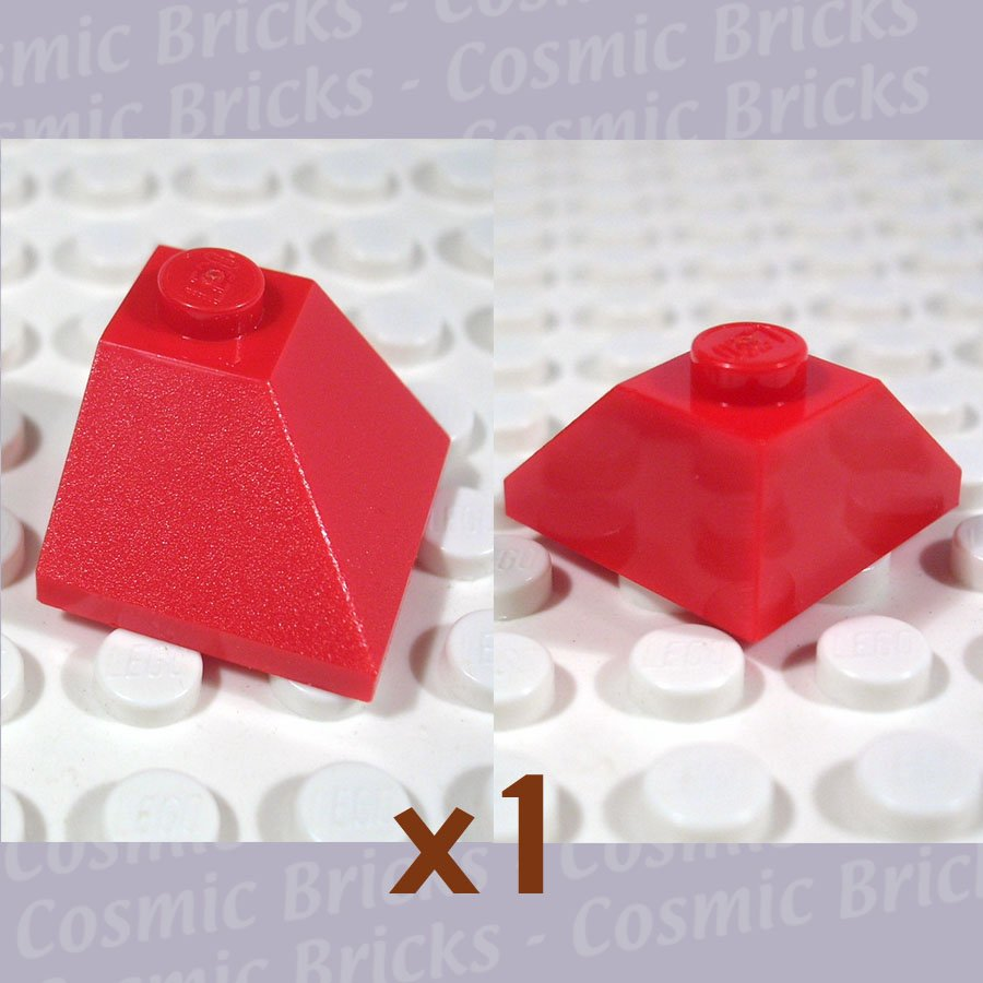LEGO Red Slope 45 2x2 Double Convex 4163087 3045 (single,N)