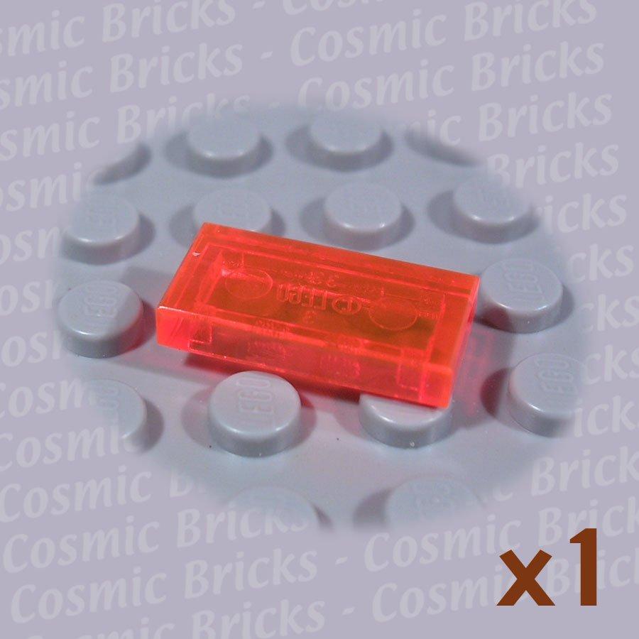 LEGO Trans-Neon Orange Tile 1x2 4204537 3069 (single,N)