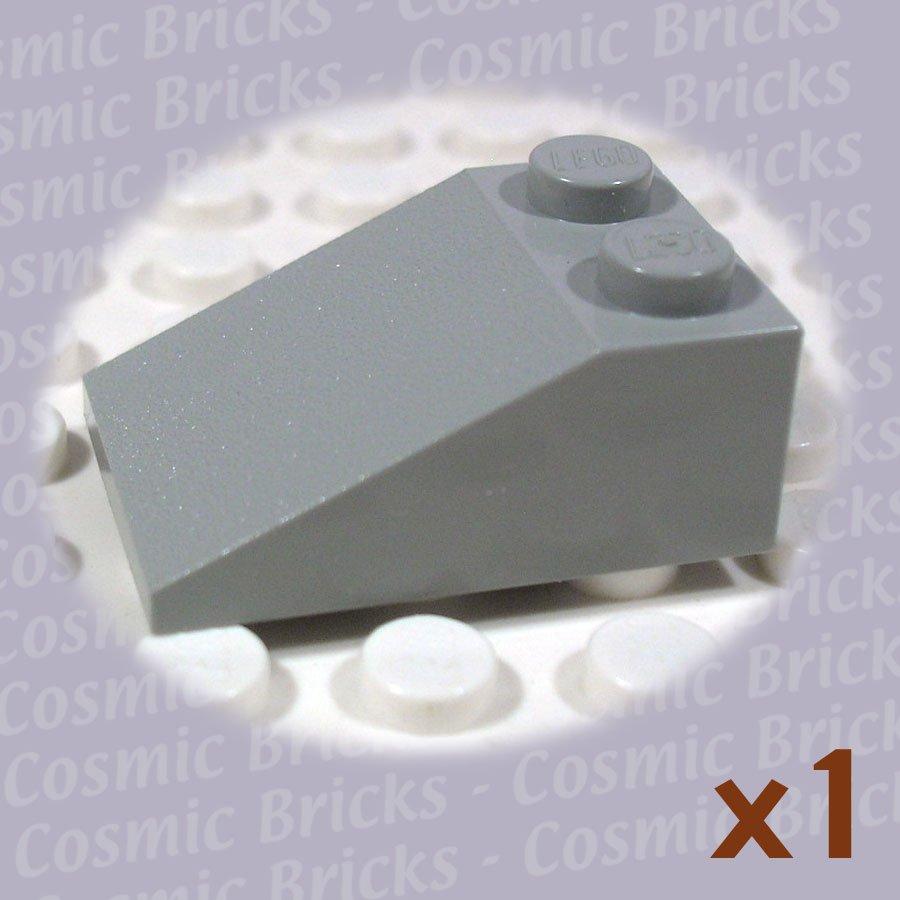 LEGO Light Gray Slope 33 3x2 329802 3298 (single,U)