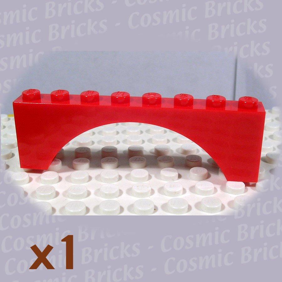 LEGO Red Brick Arch 1x8x2 4249187 3308 (single,N)
