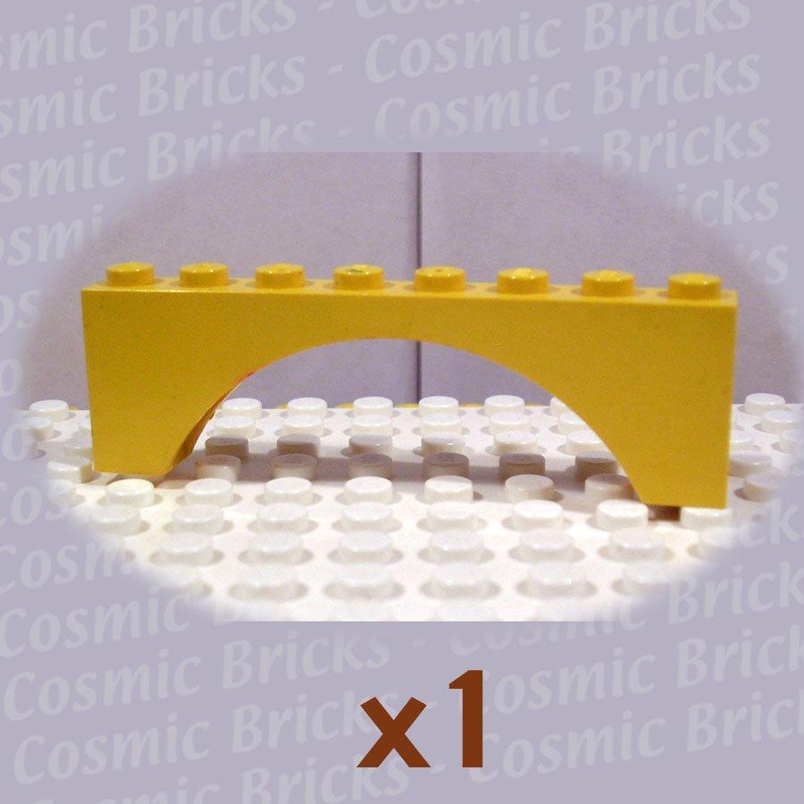 LEGO Yellow Brick Arch 1x8x2 4189053 4501536 3308 (single,U)