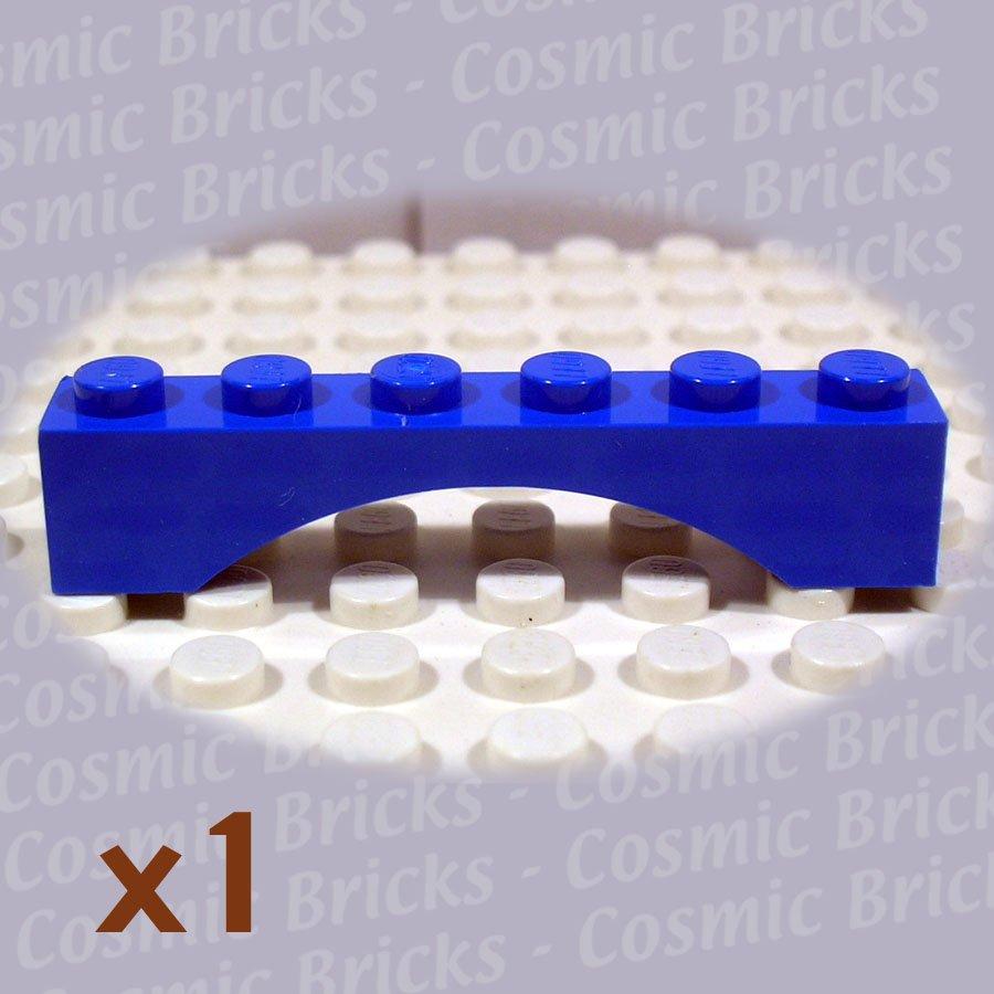 LEGO Blue Arch Brick 1x6 4186666 3455 (single,N)