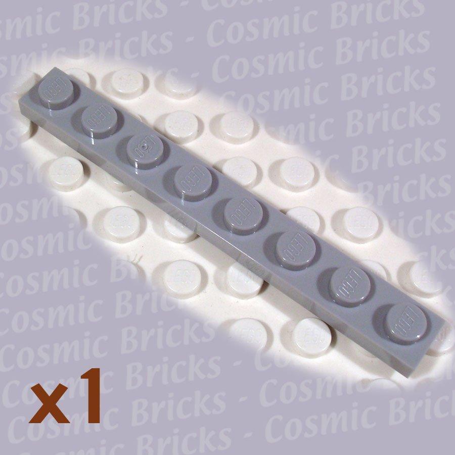 LEGO Light Bluish Gray Plate 1x8 4211425 3460 (single,N)