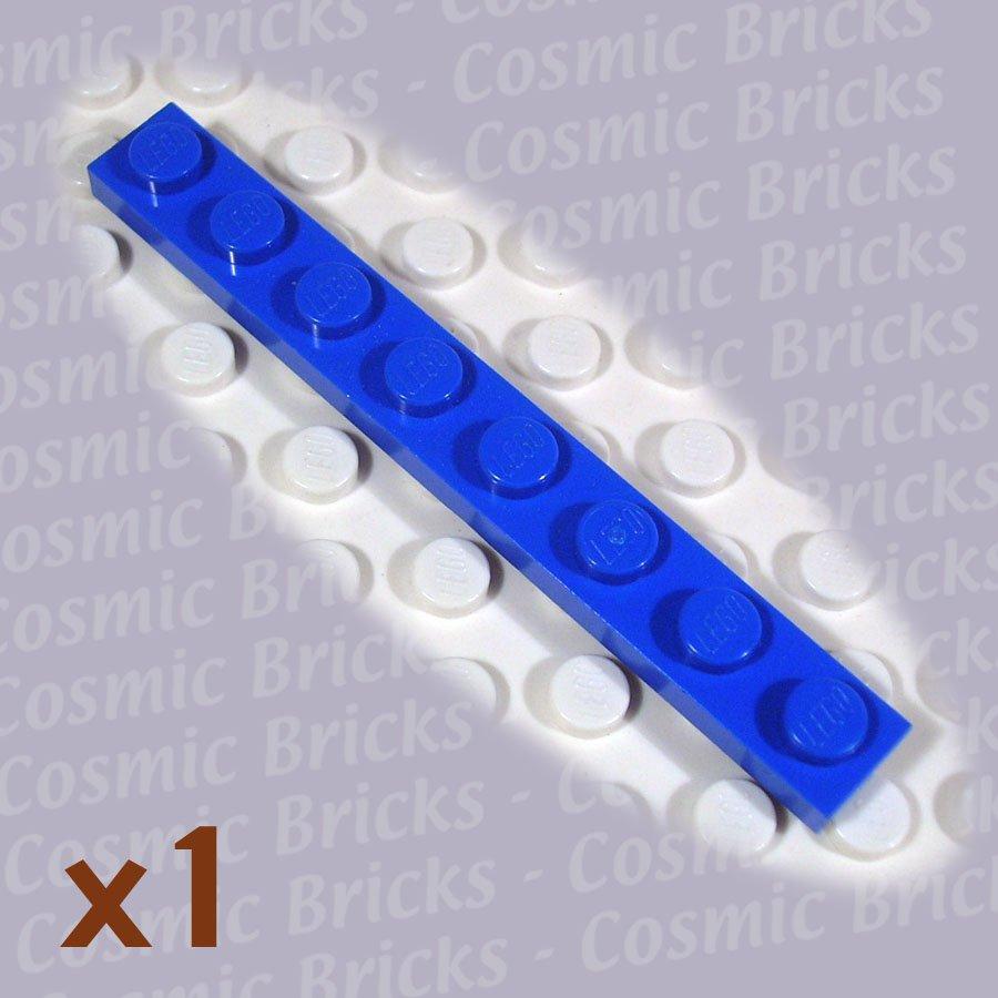 LEGO Blue Plate 1x8 346023 3460 (single,N)