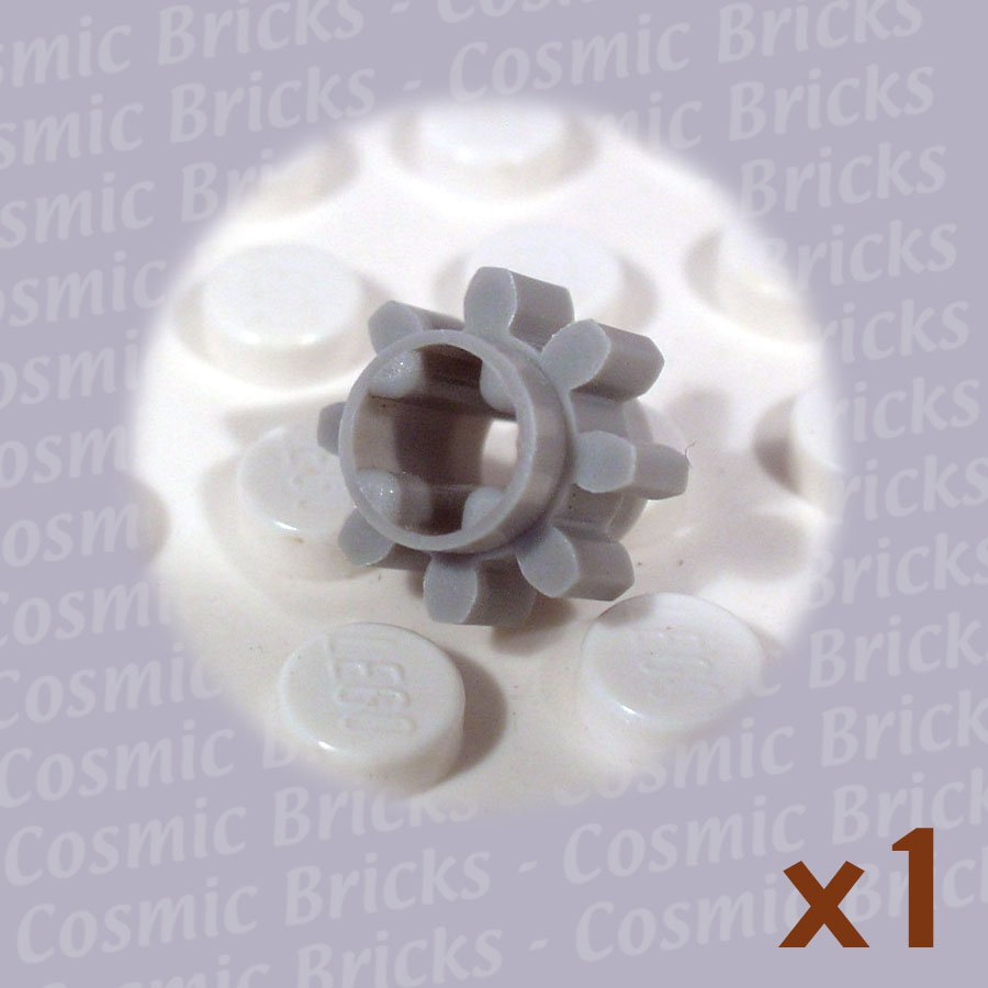 LEGO Light Gray Technic Gear 8 Tooth 364702 3647 (single,U)