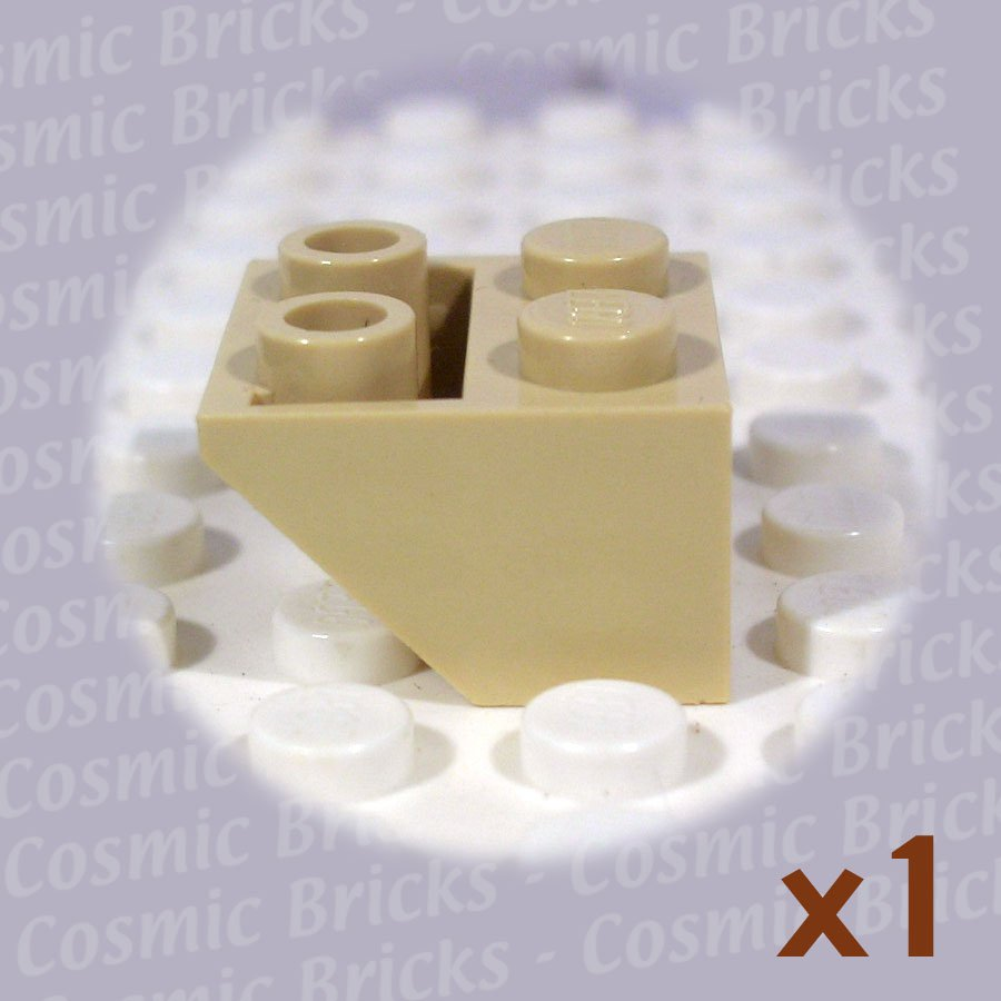 LEGO Tan Slope Inverted 45 2x2 4118866 3660 (single,N)