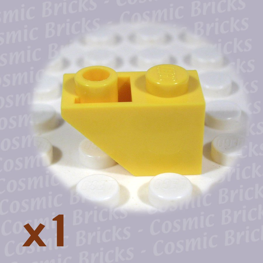 LEGO Yellow Slope Inverted 45 2x1 366524 3665 (single,U)