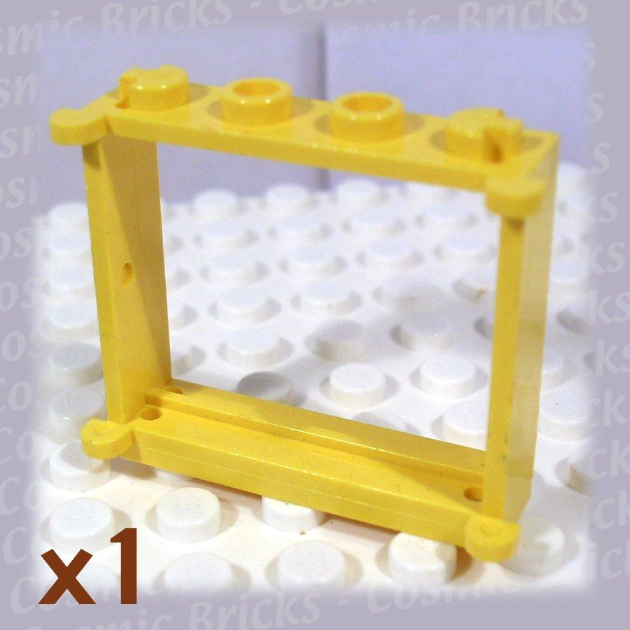 LEGO Yellow Window 1x4x3 385324 3853 (single,U)