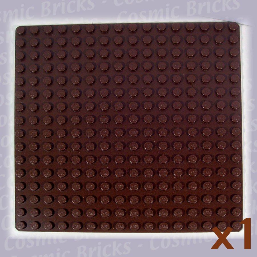 LEGO Brown Baseplate 16x16 3867 (single,U)