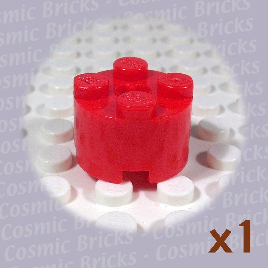 LEGO Red Brick Round 2x2 614321 3941 (single,U)