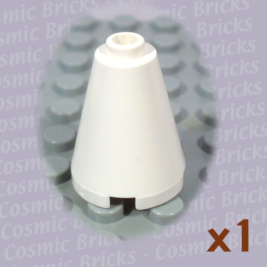 LEGO White Cone 2x2x2 394201 3942 (single,N)