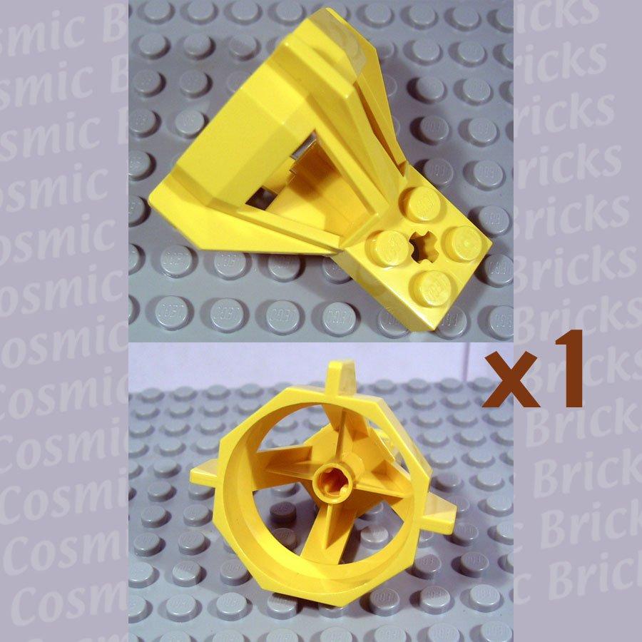 LEGO Yellow Propeller Housing 6040 (single,U)