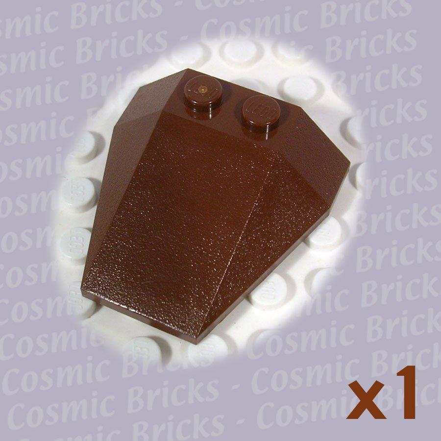 LEGO Brown Wedge 4x4 6069 (single,N)