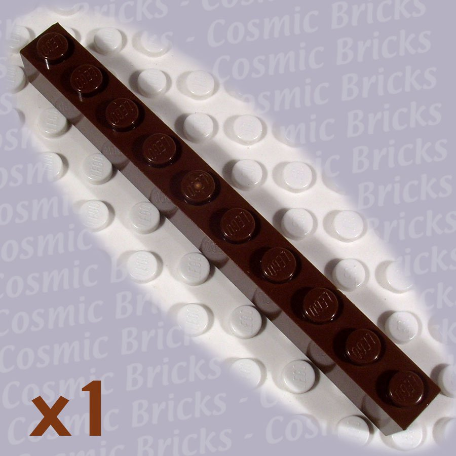 LEGO Brown Brick 1x10 4141041 6111 (single,N)