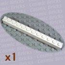 LEGO White Brick 1x12 611201 6112 (single,N)