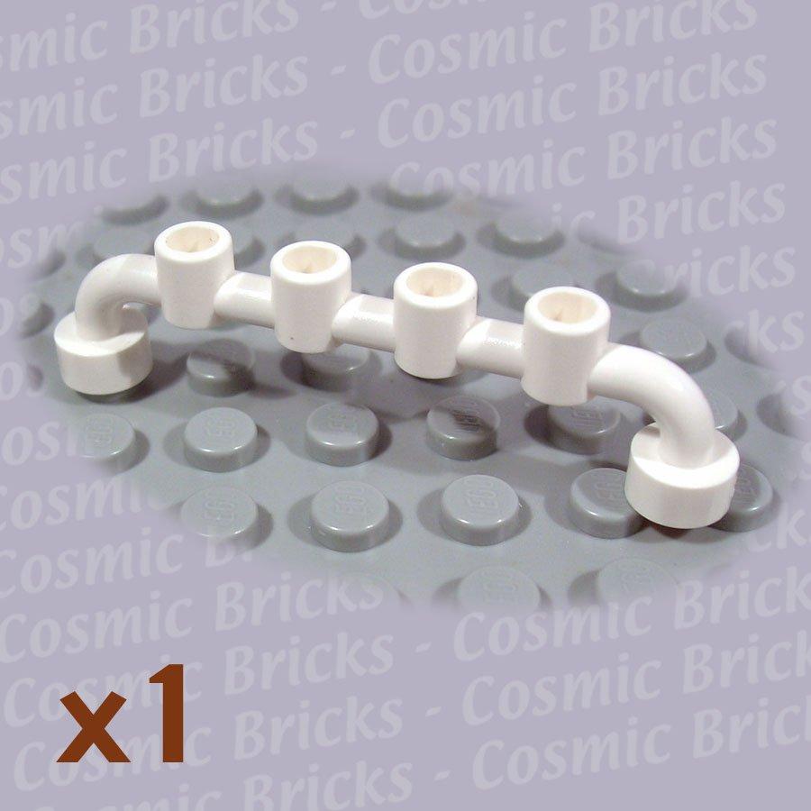 LEGO White Bar 1x6 Studs Open 4288961 6140 (single,N)