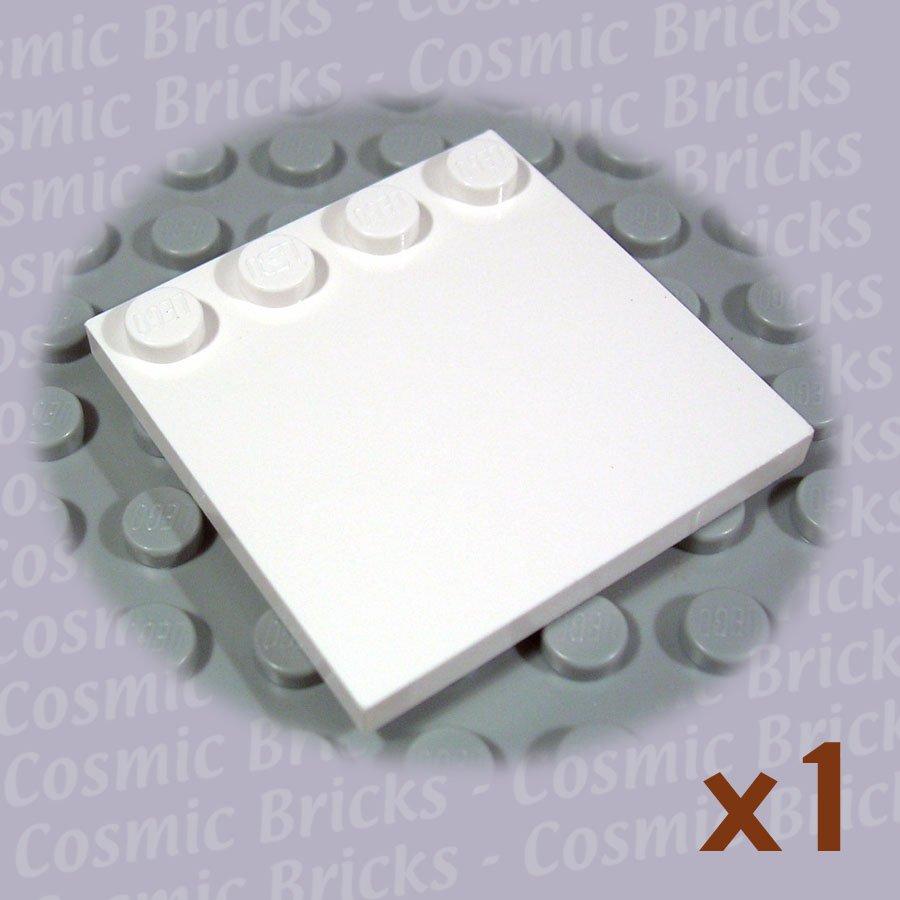 LEGO White Tile Modified 4x4 Studs on Edge 617901 6179 (single,N)