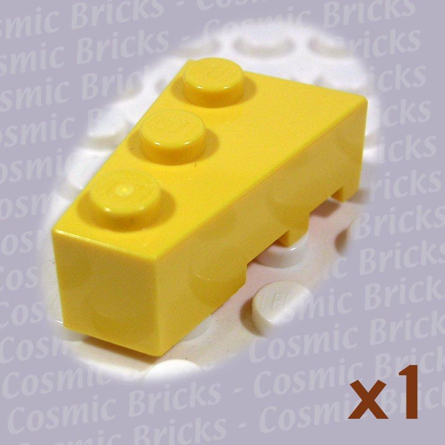 LEGO Yellow Wedge 3x2 Left 4527769 6565 (single,N)