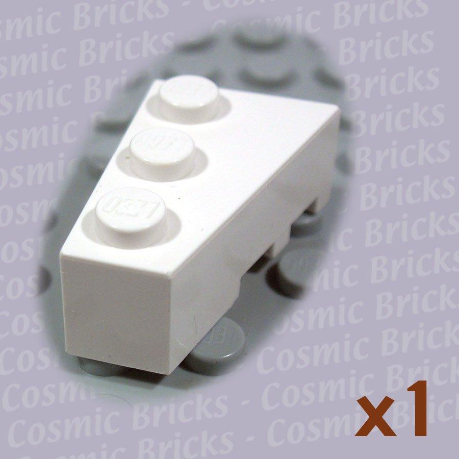 LEGO White Wedge 3x2 Left 4527764 6565 (single,N)