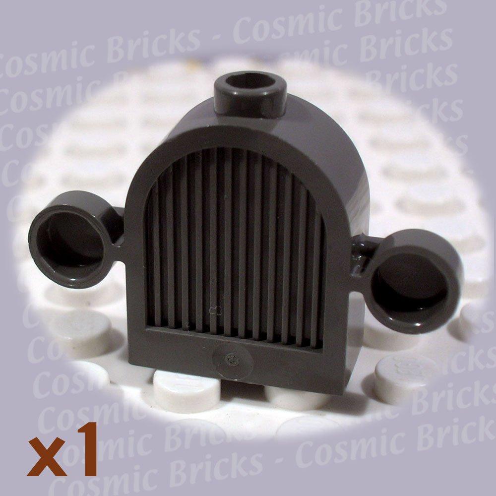 LEGO Dark Gray Vehicle Grill 1x2x2 Lights 30147 (single,N)