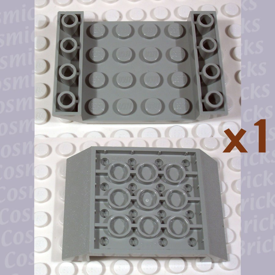 LEGO Light Gray Slope Inverted 45 6x4 Double 4118776 30283 (single,N)