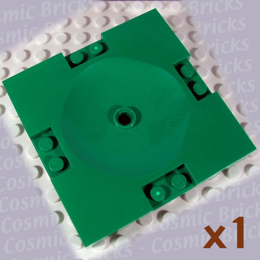 LEGO Dark Green Sports Field Section 8x8 4141119 30492 (single,N)
