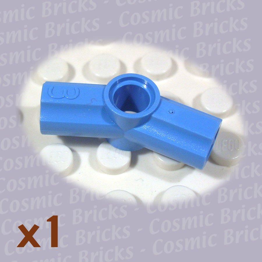 LEGO Medium Blue Technic Axle Pin Connector Angled #3 4172098 32016 (single,N)
