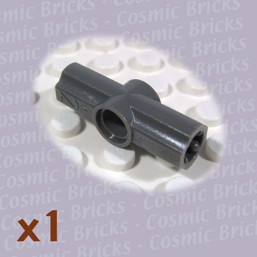 LEGO Dark Gray Technic Axle Pin Connector Angled #2 4207756 32034 (single,N)