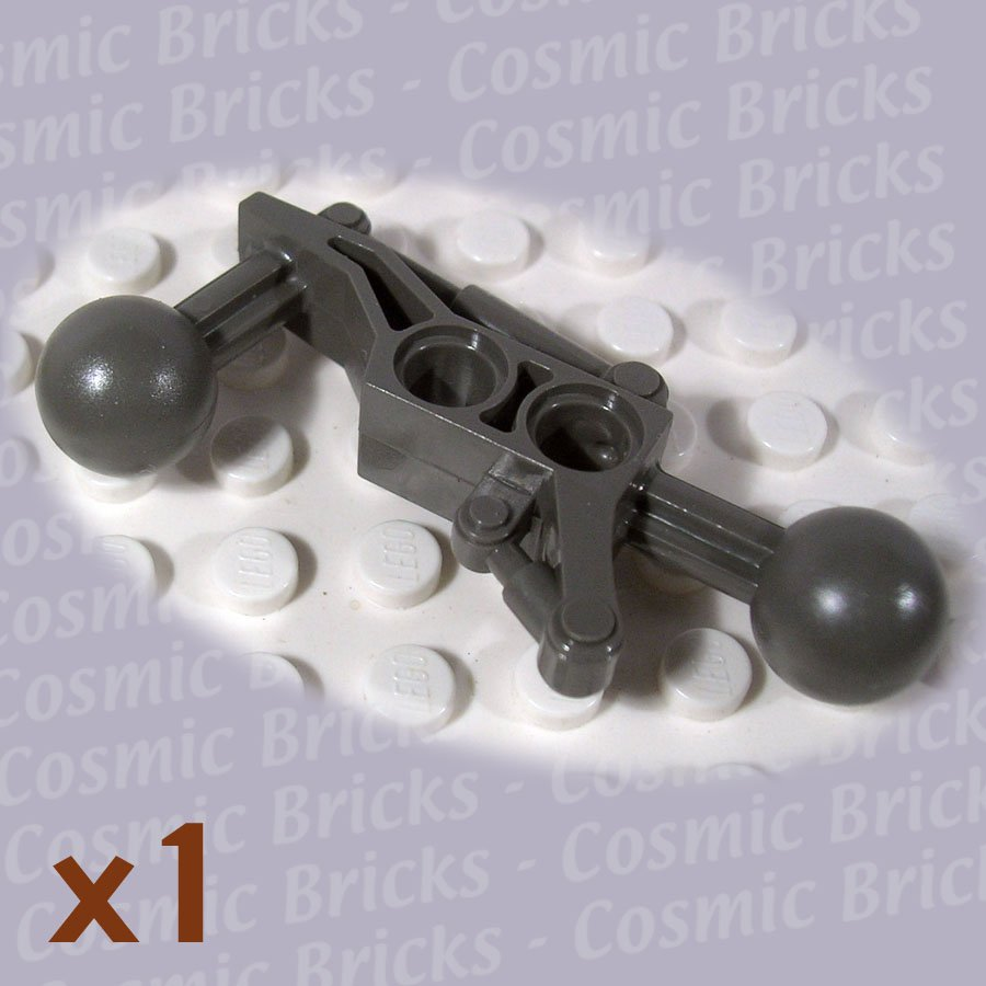 LEGO Dark Gray Technic Ball Joint 2x7 2 Ball Joints 4199475 32173 (single,N)