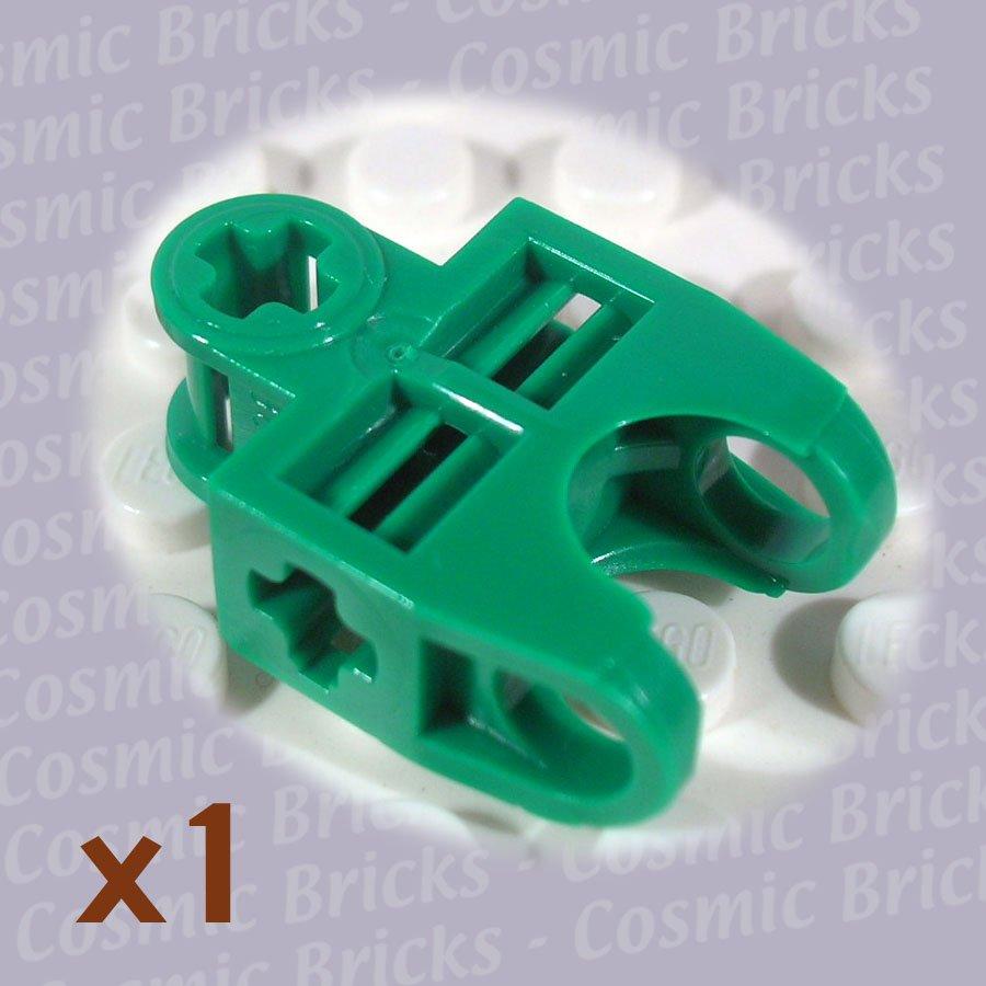 LEGO Dark Green Technic Axle Connector 2x3 Ball Socket 4141205 32174 (single,N)