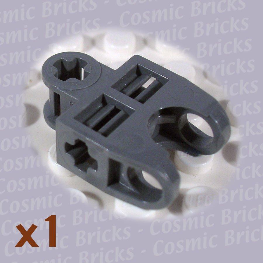 LEGO Dark Stone Grey Technic Axle Connector 2x3 Ball Socket 4217829 32174 (single,N)