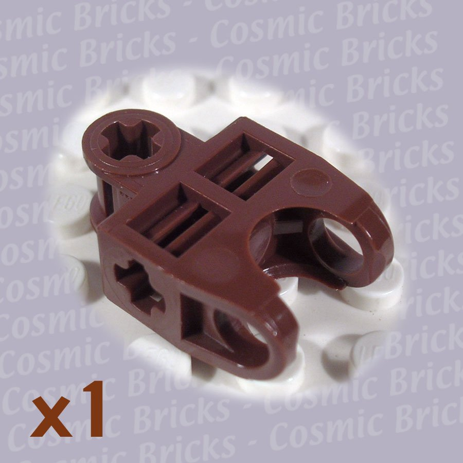 LEGO Earth Orange Technic Axle Connector 2x3 Ball Socket 4195000 32174 (single,N)
