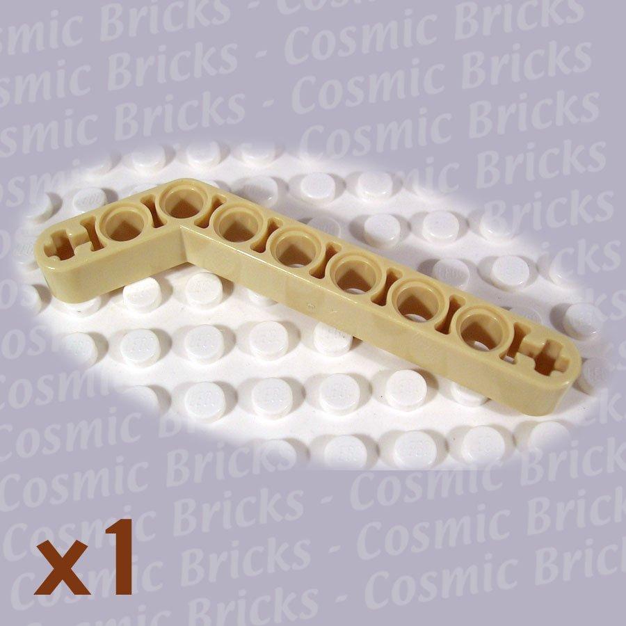 LEGO Tan Technic Liftarm 1x9 Bent (7-3) Thick 4508691 32271 (single,N)