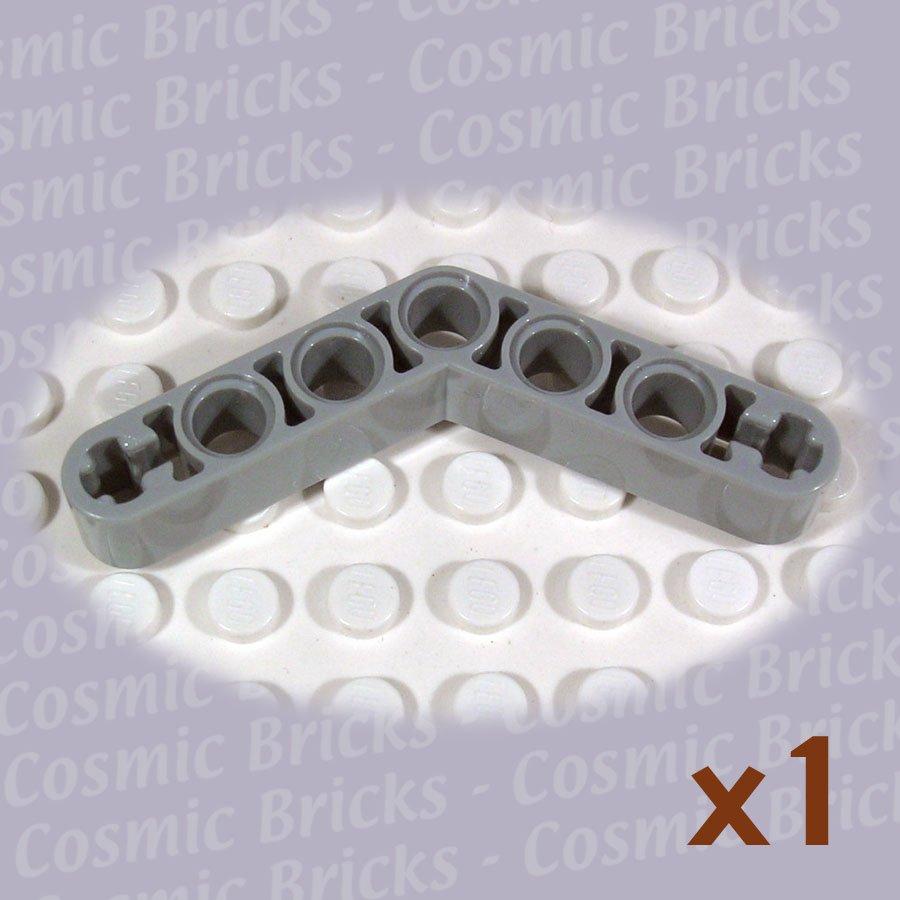 LEGO Light Gray Technic Liftarm 1x7 4-4 Thick/Bent 4143193 32348 (single,N)