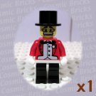 LEGO Circus Ringmaster minifigure (single,N)