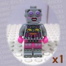LEGO Series 11 Collectors Lady Robot minifigure (single,N)