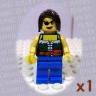 LEGO Pirate Female minifigure (single,N)