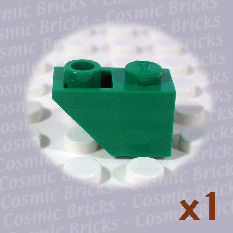 LEGO Dark Green Slope Inverted 45 2x1 4142989 3665 (single,N)