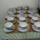 1920'-30's Japanese Lustreware 23 pc. Tea Set
