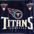 NEW Tennessee Titan Car Flag, Very Nice, Navy Blue,