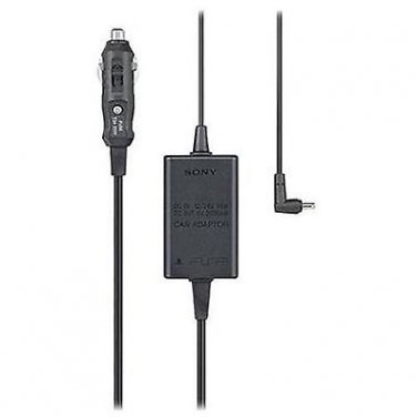 New Genuine Sony PSP Car Power Supply Adapter Charger PSP-180u, Retail $14.99